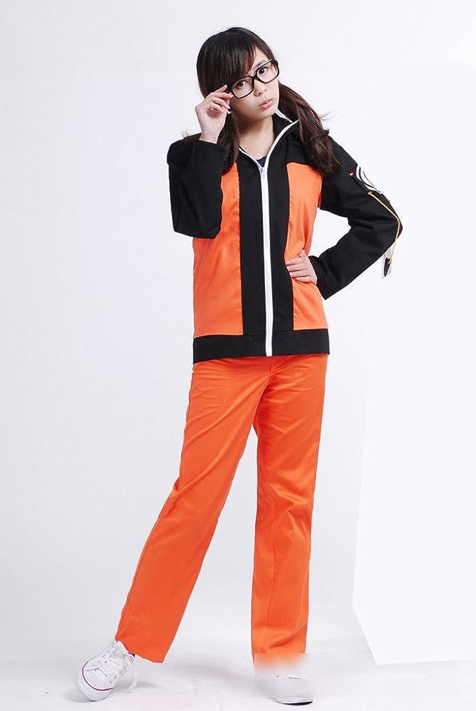 Ziyanshop Naruto disfraz chaqueta adulto Uzumaki Parte I estilo ...