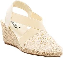 e0562f51a0df Bucco Espresso Womens Fashion Espadrille Wedge Sandals