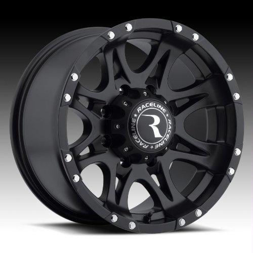 Raceline Raptor Black (16x8) +0 (8x6.5)