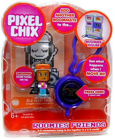 pixel chix roomies house instructions