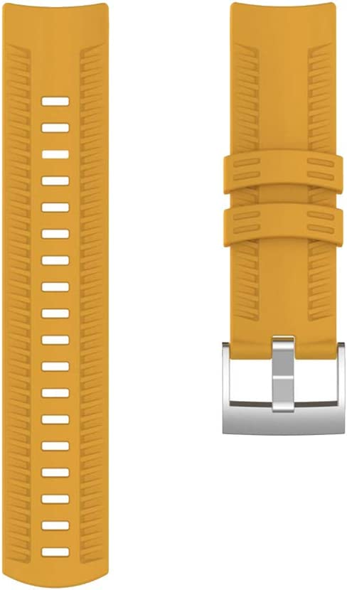 #N/A/a Correa de Pulsera de Repuesto Reloj Inteligente de - Amarillo
