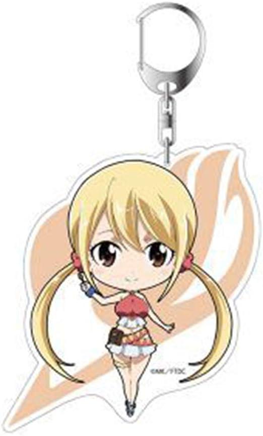 Haushele OFD Fairy Tail Anime Porte-cl/és en Acrylique pour Bijoux cr/éatifs Petit Cadeau H01