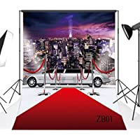 LB 5x7ft The Red Carpet Poly Fabric Photography Background Customized Photography Backdrop Studio Prop ZB01