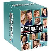 Grey's Anatomy (Complete Seasons 1-9) - 54-DVD Box Set [ NON-USA FORMAT, PAL, Reg.2 Import - United Kingdom ] by Kevin McKidd