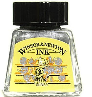 Winsor & Newton Drawing Inks (Silver) 2 pcs sku# 1835634MA