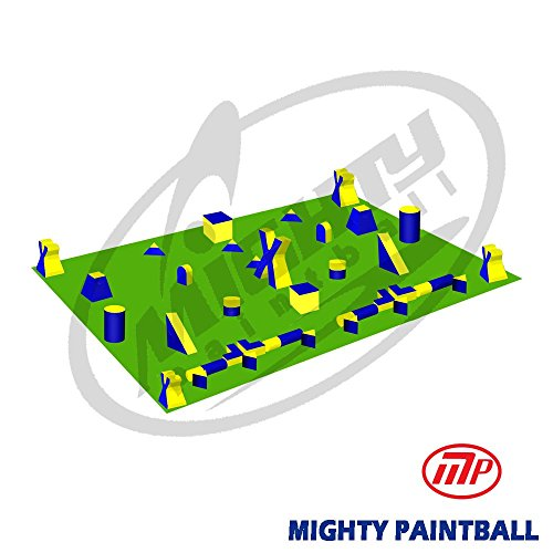 MP Paintball Bunker Package - 5 Man PRO Xtreme Field (MP-XT-5PRO) by MP - Mighty Products