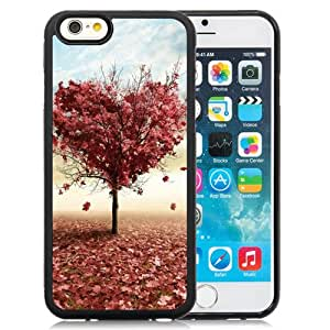 Nature Red Love Fall Tree Durable High Quality iPhone 6 4.7 Inch TPU Case