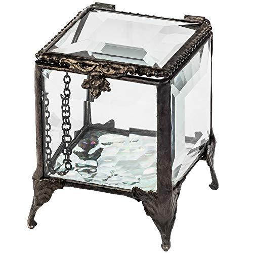 Beveled Glass Box Jewelry