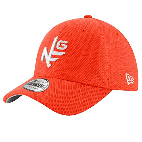 New Era Contour Stretch Neg Tee Golf Cap 2017 Orange Small/Medium by New Era