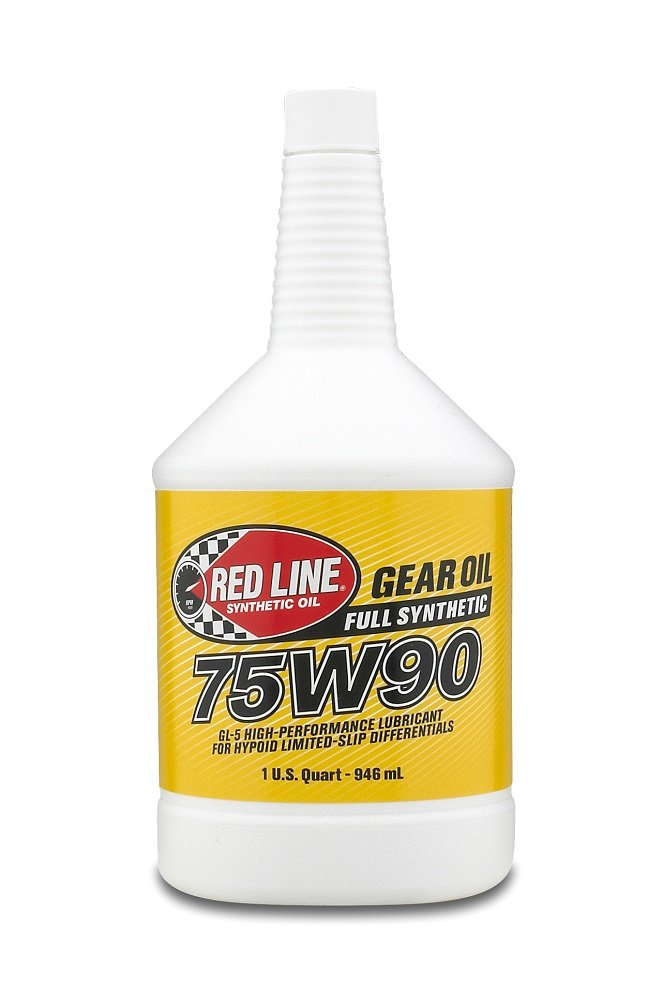 Red Line 57904-12PK 75W90 Synthetic Gear Oil - 1 Quart, (Pack of 12) 57904 CASE/12