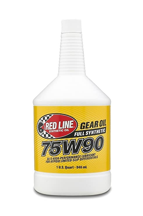 Amsoil Severe Gear 75w 90 Amazon Com >> Red Line 57904 75w90 Synthetic Gear Oil 1 Quart