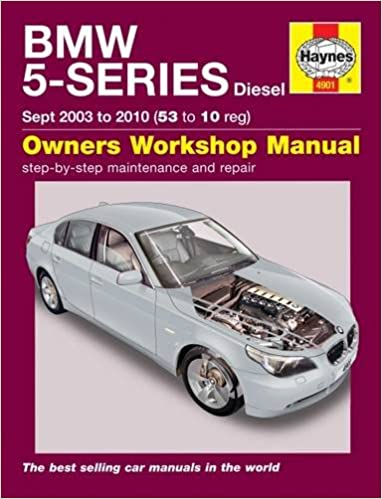 BMW 5-Series Diesel Service And Repair Manual: 03-10 Paperback – 2001
