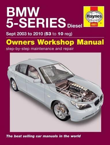 BMW 5-Series Diesel Service And Repair Manual: 03-10 (Haynes Manual) por Haynes Publishing
