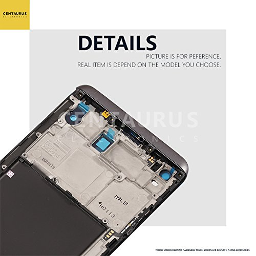 For LG LS997 V20 US996 VS995 H990ds H990 V20 H990TR H910 H915 F800L Gray Frame LCD Replacement Display Touch Screen Digitizer by CE CENTAURUS ELECTRONICS (Image #5)