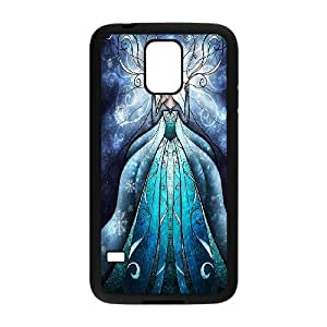 Stained Glass Disney Sleeping Beauty Hard Plastic phone Case Cover+Free keys stand For Samsung Galaxy S5 ZDI034761