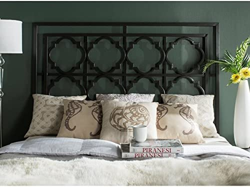 Safavieh Home Collection Silva Gunmetal Headboard