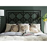 Safavieh Home Collection Silva Antique Iron Headboard, Queen