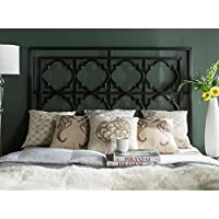 Safavieh Home Collection Silva Gunmetal Headboard, Queen