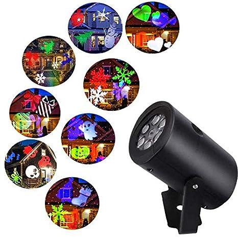 Comtervi Lámpara de proyección LED proyector Luces, 12 ...