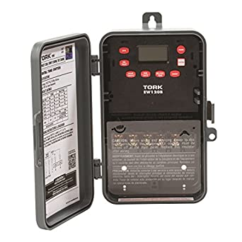 EW Series Multipurpose Control 7 Day Time Switch, 120-277 VAC Input Supply, 1 Channel, SPDT Output Dry Contact: Electronic Photo Detectors: Amazon.com: ...