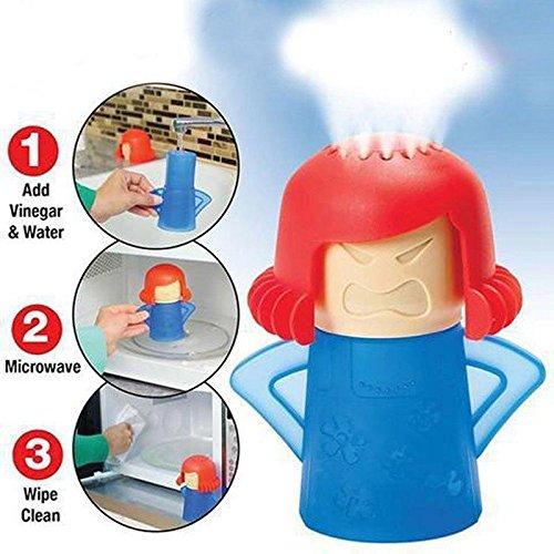 2 x Angry Mama No limpiador de vapor limpia microondas ...