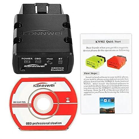 CHEERLINK Mini Bluetooth Inalámbrica OBD-II Herramientas de coche auto diagnóstico Scan: Amazon.es: Coche y moto