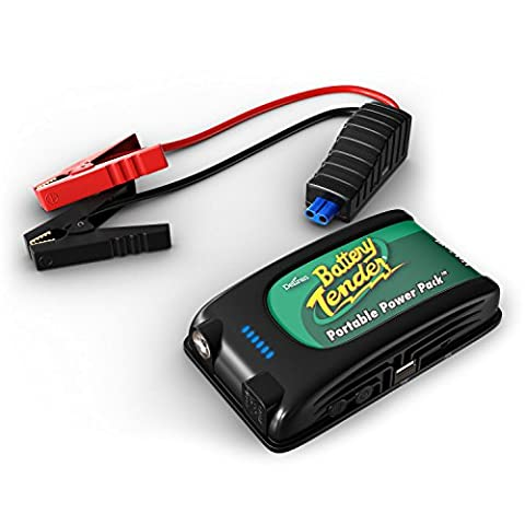 Battery Tender 400Amp 12V Lithium Jump Starter and Portable Power Pack 030-0001-WH (Marine Battery Box Small)