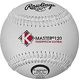 Rawlings K-Master Fastpitch Softball, 12 Count, C120WASA