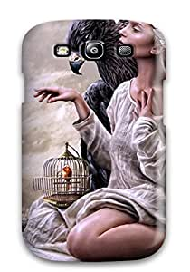 Best Snap On Hard Case Cover Eagle Girl Protector For Galaxy S3