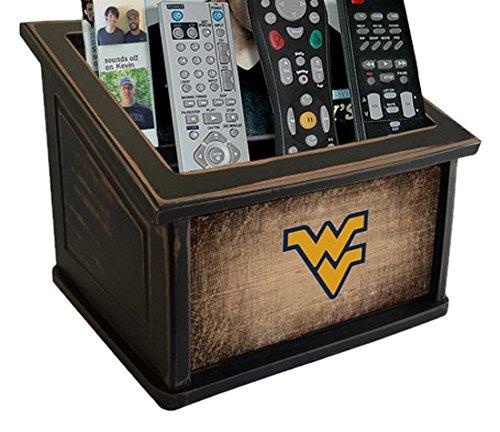 Fan Creations C0765-West University West Virginia Woodgrain Media Organizer, Multicolored by Fan Creations