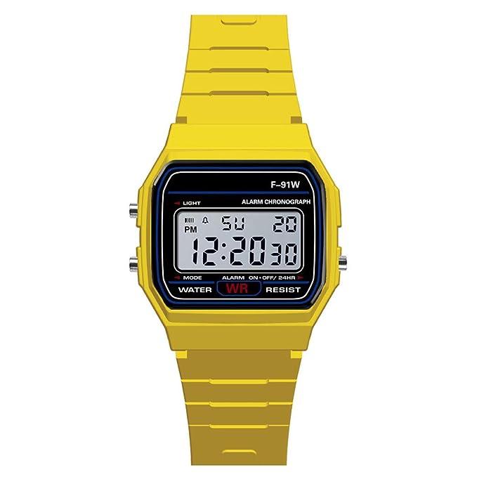 Reloj electronico Infantil,BBestseller Impermeable Inteligente Podómetro Pulsera LED Relojes Hombre Deportivos Monitores de Actividad Cronómetros ...