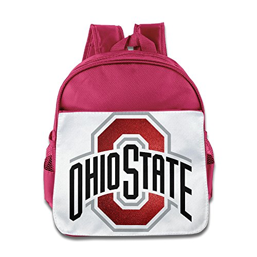 Price comparison product image Custom Ohio State University Columbus Children School Bagpack For 1-6 Years Old Pink