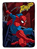 Marvel Spiderman Burst Plush Twin Blanket, 62'' X 90''
