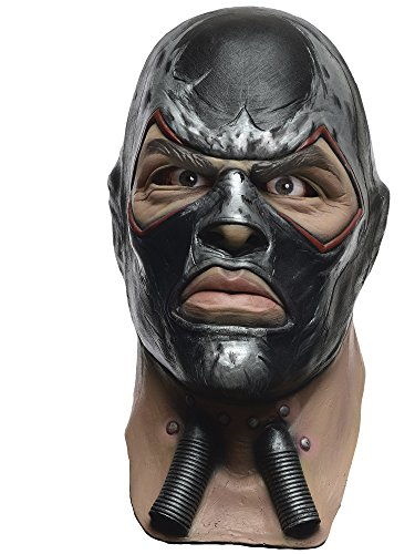 Rubie's Men's Arkham City Adult Deluxe Overhead Latex Bane Mask, Multi, One Size]()