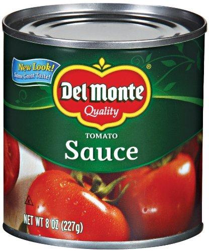 Del Monte Tomato Sauce 8 Oz (Pack of - Del Ca Monte