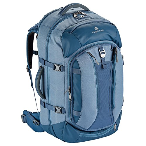 Ladies Eagle - Eagle Creek Global Companion 65L Women's Backpack Travel Water Resistant Mulituse-17in Laptop Suitecase, Smokey Blue