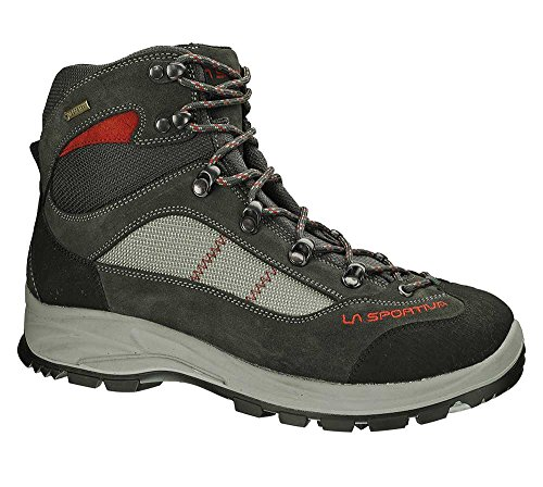 Zapatillas de Deporte Para trekking Para Hombre Cornon Goretex Grey Red 39 /