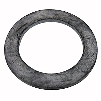 LASCO 02-2017 Flat Rubber Union Washer, 1-1/4-Inch ID X 1-13/16-Inch OD, 1-Inch, 2-Pack