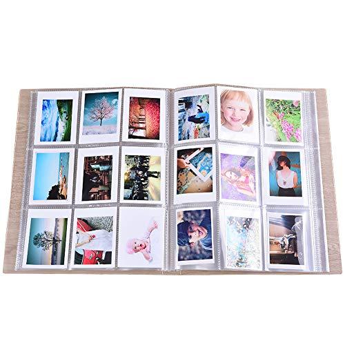 SAIKA 288 Pockets Transparent Mini Photo Album Protector for