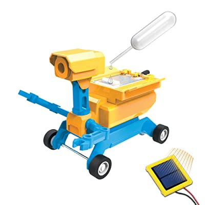 Tenergy Odev Geo STEM Toy DIY 2-in-1 Solar Powered Robot Salt Water Car Kit Educational Toys for Kids Ages 14+: Toys & Games