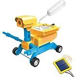 Tenergy Odev Geo STEM Toy DIY 2-in-1 Solar Powered Robot Salt Water Car Kit Educational Toys for Kids Age 8+