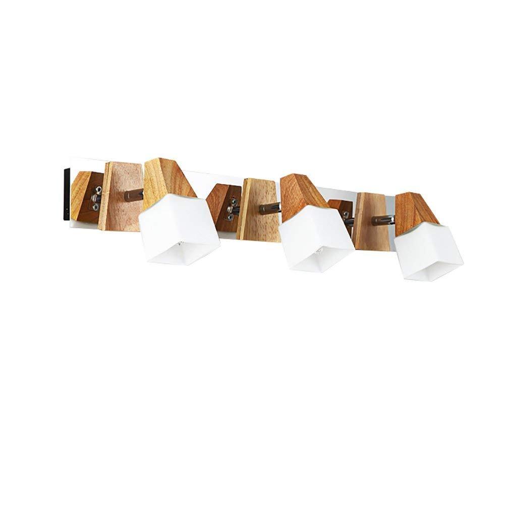 JBP Max Spiegel Light Bad Light Bathroom Dresser Holzspiegel Front Licht Schrank Spiegelbeleuchtung,54  11  9Cm