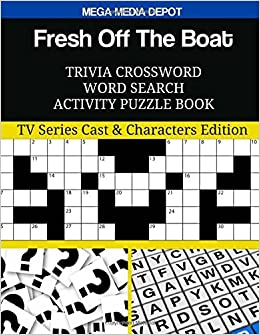 Fresh Off The Boat Trivia Crossword Word Search Activity