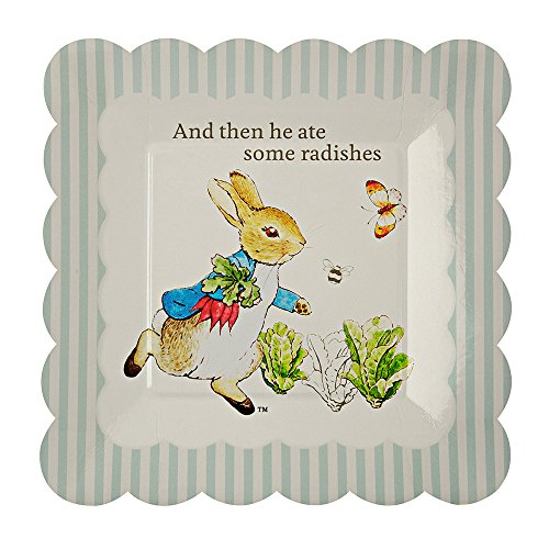 Meri Meri Peter Rabbit Scallop Edge Plates Small