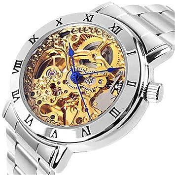Bella, relojes para mujer reloj esqueleto reloj Alla Moda ...