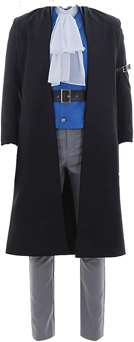 One Piece Sabo Cosplay Costume Black Tailor Made Cosplay Costume
