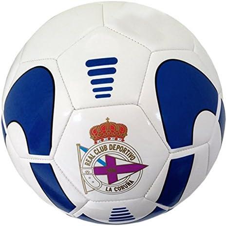 Real Club Deportivo de La Coruña Baldep Balón, Azul/Blanco, 5 ...