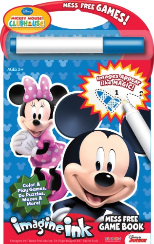 Bendon Disney Mickey Mouse Clubhouse Mess Free Game Book