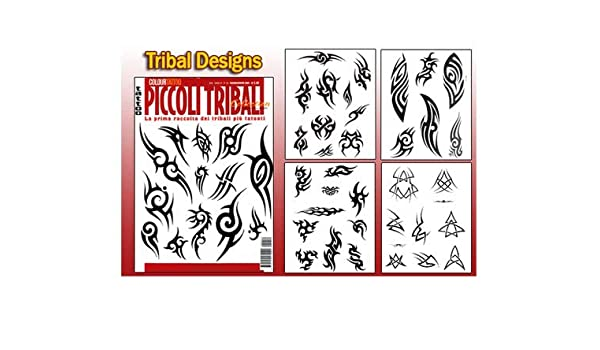 Amazoncom Small Tribal Tattoo Flash Design Book 64 Pages Health