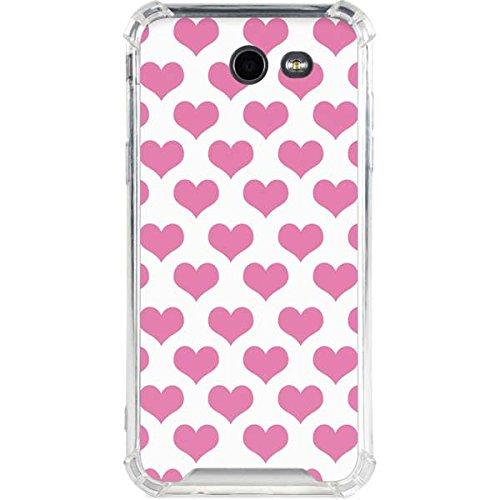 Amazon com: Love Galaxy J3 Case - Plush Pink Hearts   Skinit